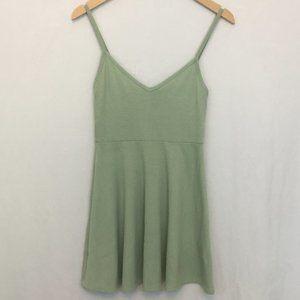Forever 21 Sage Green Spaghetti Strap Dress S